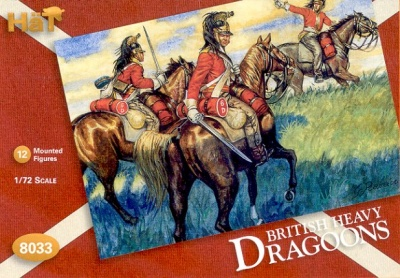 HAT 8033 Napoleonic British Heavy Dragoons