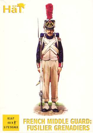 HAT 8167 Napoleonic French Middle Guard: Fusilier Grenadiers