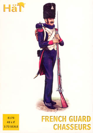 HAT 8170 Napoleonic French Guard Chasseurs