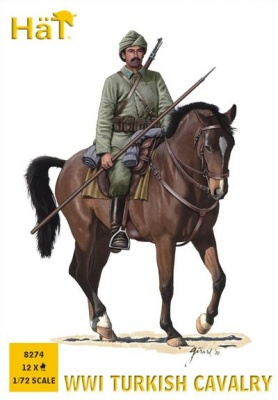 HAT 8274 - WWI Turkish Cavalry - 12 figures and horses
