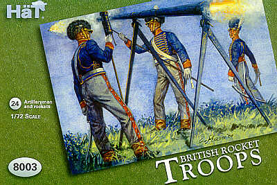 HAT8003 Napoleonic British Rocket Troops
