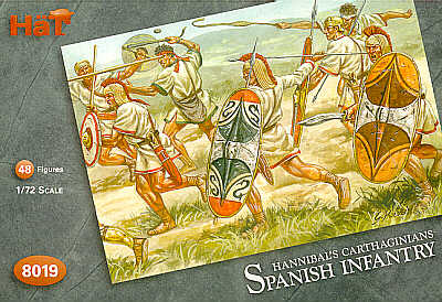 HAT8019 Carthaginian Spanish Infantry - 48 figures