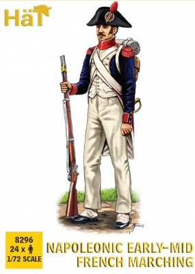 HAT8296 Napoleonic 1805-1812 French Infantry Marching