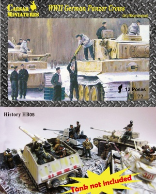 HB05 - WWII German Panzer Crews (Set 2 Winter/Greatcoat)