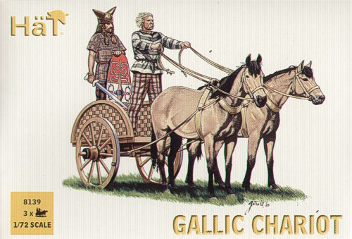 HaT ANCIENTS Set 8139  Celtic Chariot