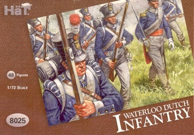 HaT NAPOLEONIC  Set 8025  Waterloo Dutch Infantry