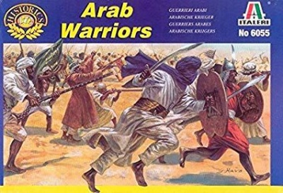 ITALERI 1/72 - ARAB/MUSLIM WARRIORS