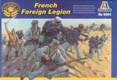 ITALERI 1/72 - FRENCH FOREIGN LEGION