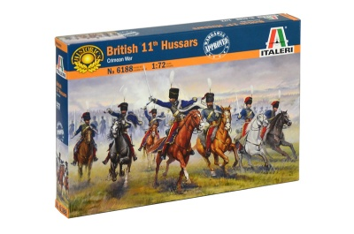 ITALERI 6052 - Crimean War British Hussars