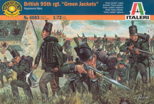 ITALERI 6083 Napoleonic British 95th Regiment