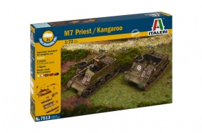 ITALERI 7513 - scala 1 : 72 M7 PRIEST/KANGAROO FAST ASSEMBLY