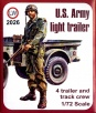 LW #2026 (PT 2) 1/72 Scale U.S. Army Light Trailer