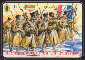 M023 French Line Infantry on the March