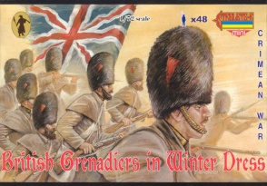 M029 Crimean British Grenadiers in Winter Dress