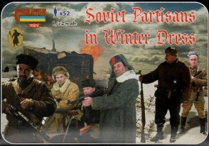 M084 - Soviet Partisans in Winter Dress