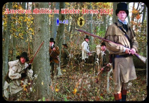 M098 American Militia in Winter Dress 1812
