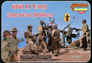 M105 WWII Early American Infantry