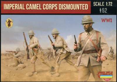M123 WWI Imperial British Camel Corps Dismounted