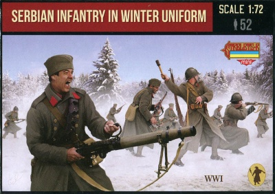 M126 - WWI Serbian Infantry in Winter Uniform