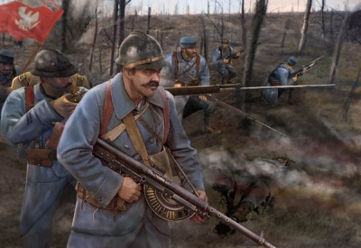 M130 - WWI Polish Infantry (Blue Army)