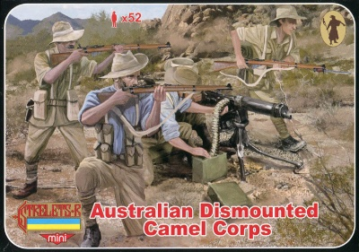 M131 WWI Australian Camel Corps Dismounted