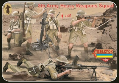 M132 WWII 8th Army Heavy Weapons Squad
