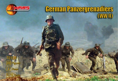 MARS 108 - WWII German Panzergrenadiers