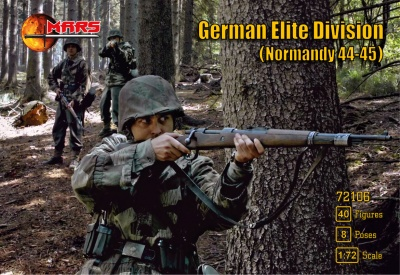 MARS 72106 - WWII GERMAN ELITE DIVISION - NORMANDY 44-45