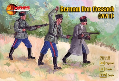 MARS 72113 WWII GERMAN DON COSSACK