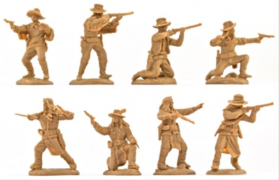 PARAGON 4 Cavalry Scouts and 4 Apache Scouts - LIMITED BLISTER EDITION