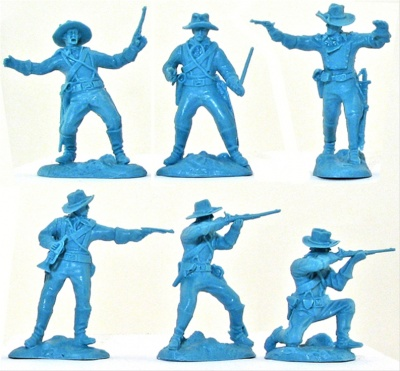 PARAGON - G.A.CUSTER 7th US CAVALRY  - SET 1