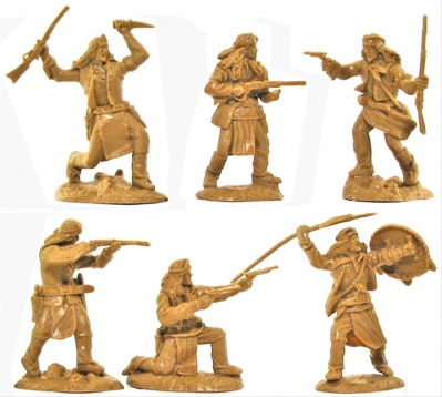 PARAGON GERONIMO FAR-WEST SET 2 - AMERICAN INDIAN APACHES - LIMITED FIGURES