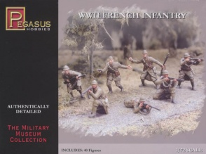 Pegasus 7306  WWII French Infantry