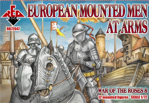 RB72047 War of the Roses 8. European Mounted Men at Arms