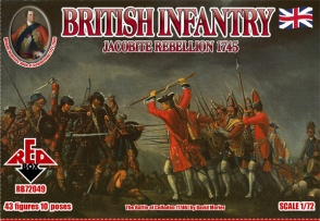 RB72049        Jacobite Rebellions. British Infantry 1745