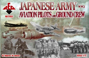 RB72052 WW2 Japanese Army Aviation Pilots and Ground Crew