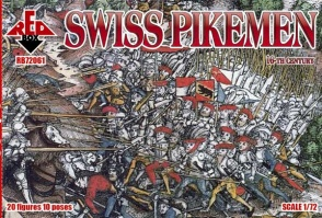 RB72061  Swiss Infantry  (Pikemen)  16th century