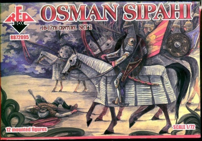 RB72095  Osman Sipahi 16-17 centry. Set 2 - 12 mounted figures