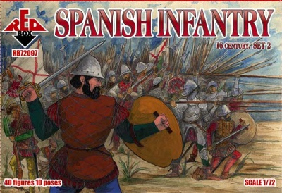 RB72097  Spanish Infantry. Set 2. 16 century