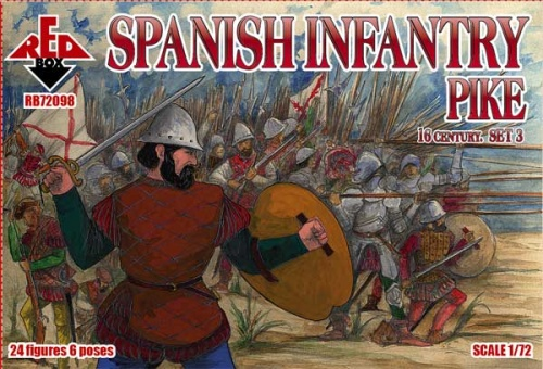 RB72098  Spanish Infantry (Pike). Set 3. 16 century