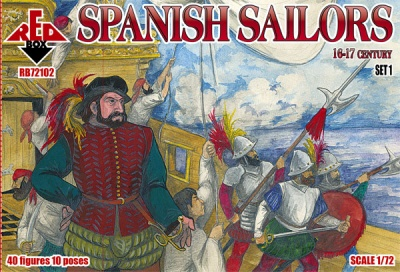 RB72102 Spanish Sailors 16-17 century - set 1