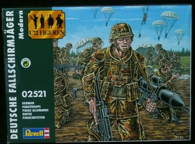 REVELL - 02521 - Modern German Paratroops