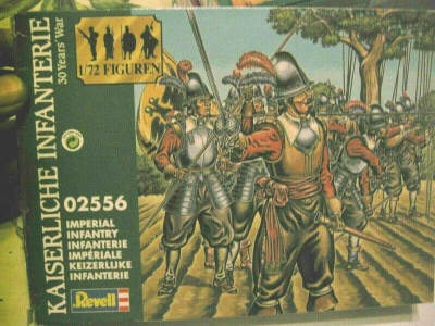 REVELL 1/72 - 02556Thirty Years War Imperial Infantry