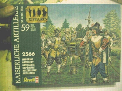 REVELL 1/72 - 02566Thirty Years War Imperial Artillery