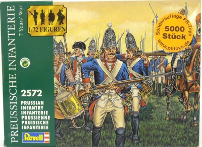 REVELL 2572 PRUSSIAN INFANTRY 7 YEAR'S WAR - 1/72