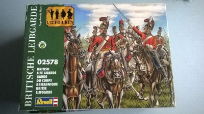 REVELL 2578 - BRITISH LIFE GUARDS NAPOLEONIC WARS - 1/72 COMPLETE
