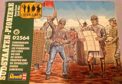 REVELL - AMERICAN CIVIL WAR - 02564 Confederate Pioneers