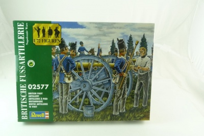 REVELL TOY SOLDIERS 1/72 - 02577 - Napoleonic British Foot Artillery