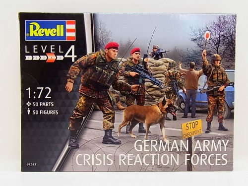 RV2522 1:72 German Army (KRK) Crisis Reaction Forces