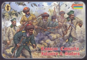 Russian Cossack Infantry and Sailors